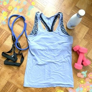 Lululemon Racerback Tank with Attached Bra!